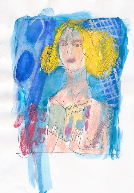 , 'In Shadows I Boogie (after Miller) – Drawing,' 2017, Lyndsey Ingram