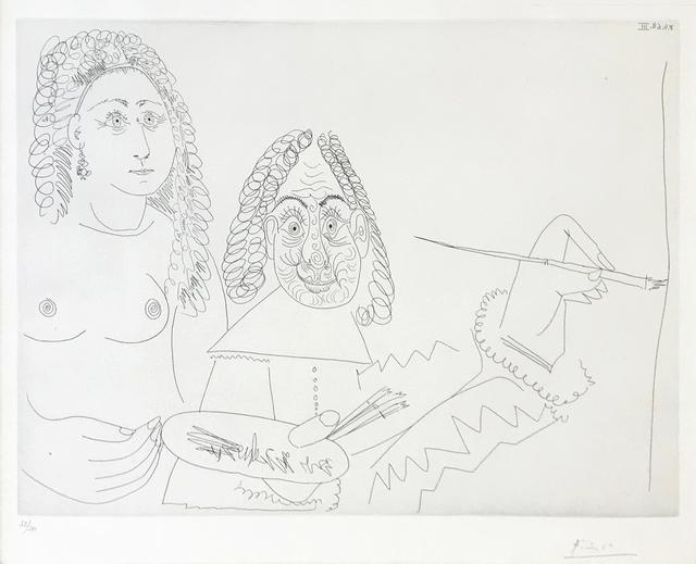 Pablo Picasso, '347 SERIES (BLOCH 1502)', 1968, Print, ETCHING, Gallery Art
