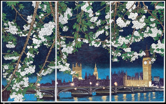 , 'Crying Landscape: Houses of Parliament and Big Ben 会叫的风景,' 2002, The Metropolitan Museum of Art