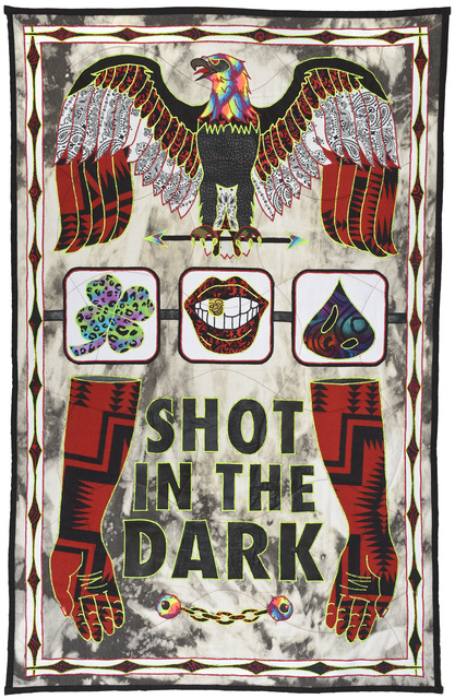 , 'Shot in the Dark,' 2016, Jonathan LeVine Projects