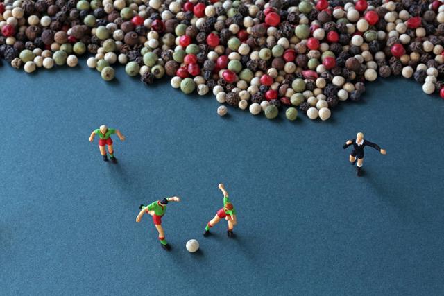 , 'Peppercorn Soccer,' 2013, Winston Wächter Fine Art