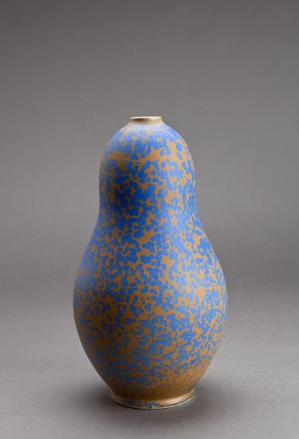 , 'Gourd vase, blue stardust glaze,' , Pucker Gallery