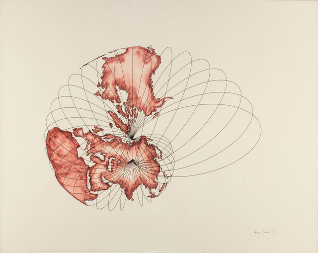 , 'Isometric Systems in Isotropic Space - Map Projections: The Snail,' 1978, Leslie Tonkonow Artworks + Projects