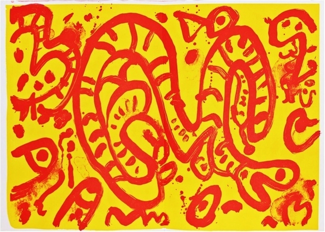 Alan Davie, 'Untitled (from One Cent Life Portfolio) ', 1964, Alpha 137 Gallery