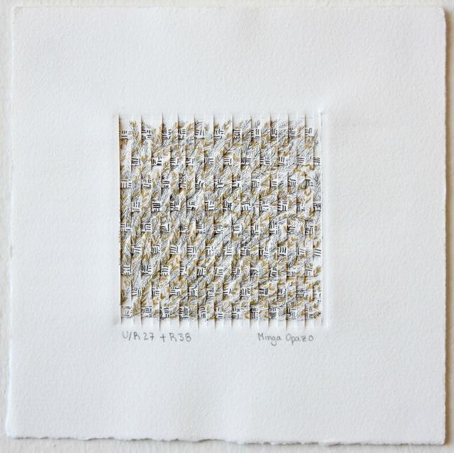 Minga Opazo, 'U/R27 + R38', 2017, Dab Art