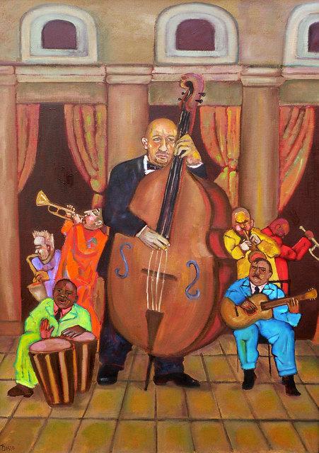 , 'El Bajo (The Bass Player),' 2009, Tabla Rasa Gallery