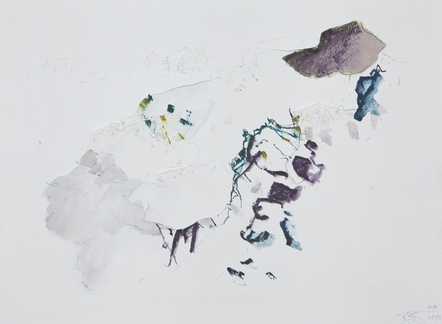 , 'Stone Poem Watercolor series 0555,' 2009, Rosenberg & Co.