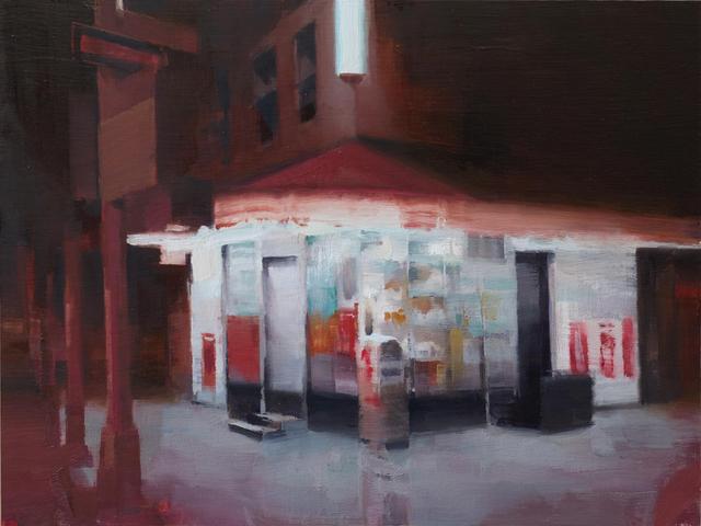 Kim Cogan, 'Midnight Hour', 2020, Painting, Oil on Panel, Gallery Henoch