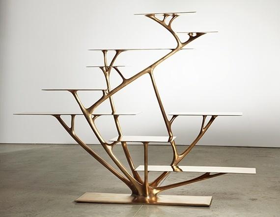 , 'Branch Bookshelf ,' 2010, Jeff Lincoln Art+Design