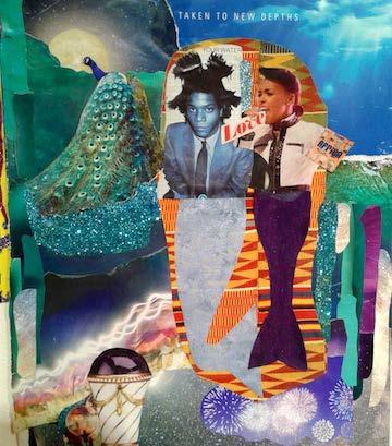 , 'Untitled (Janelle Monae Basquiat),' 2016, Jenkins Johnson Gallery
