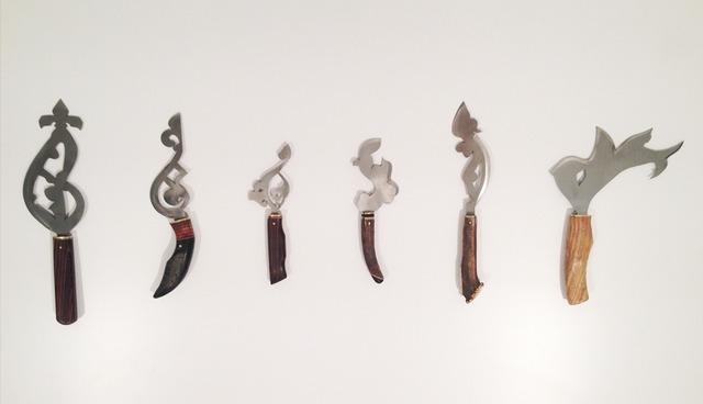 , 'Les Couteaux,' 2013, Sabrina Amrani