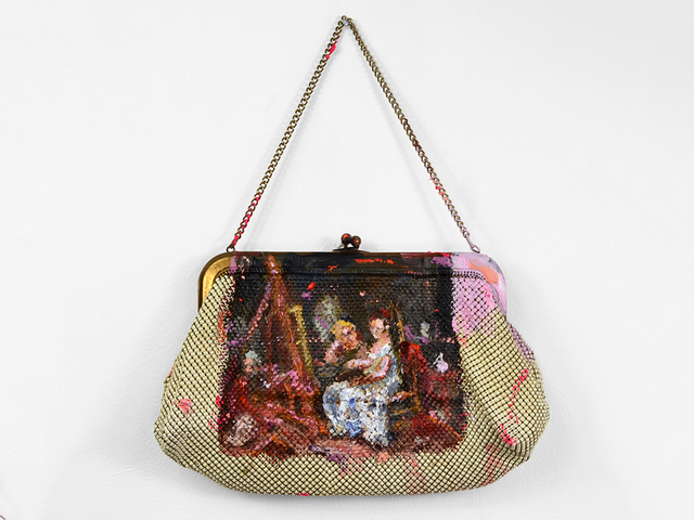 , 'Apotropaic Old Bag for Master Artists,' 2018, Fisher Parrish Gallery