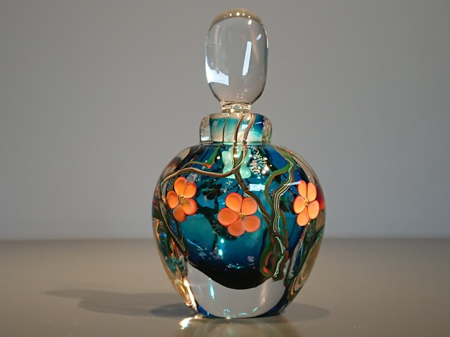 , 'Flower Perfume bottle,' 2019, The Majlis Gallery