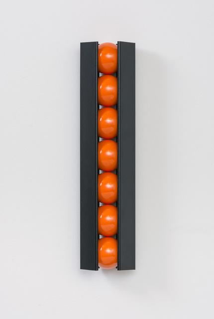 , 'Black and Orange,' 2015, Flowers