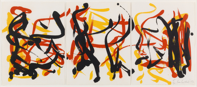 , 'Little Weeds II (Triptych),' 1992, Susan Sheehan Gallery