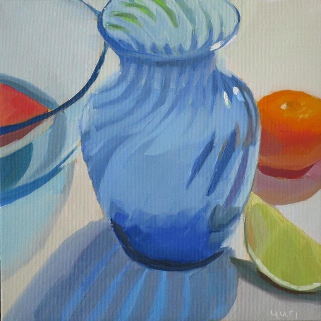 Yuri Tayshete, 'Blue Vase', 2019, 440 Gallery
