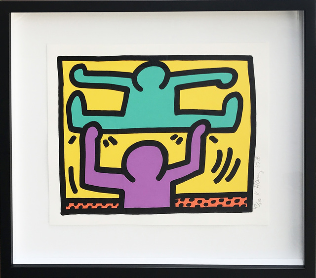 Keith Haring, 'Pop Shop I (D)', 1987, Hamilton-Selway Fine Art: Fall Fusion of Pop and Contemporary Art