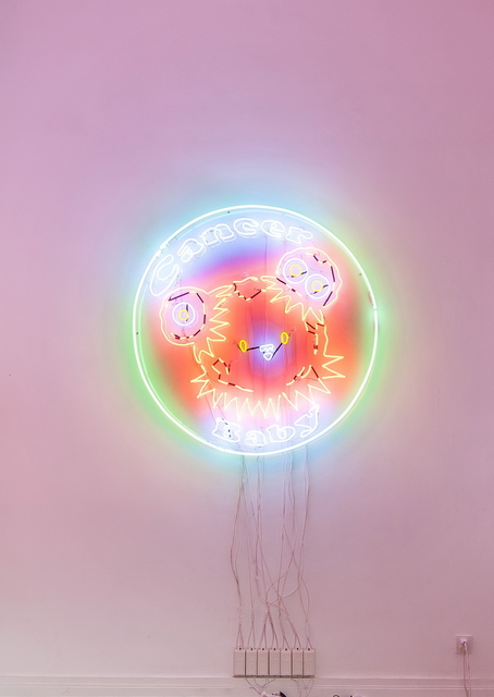 , 'C-Baby Neon 癌宝宝霓虹灯,' 2014, Rén Space
