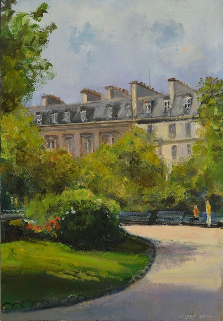 , 'Paris Jardin,' 2014, Madelyn Jordon Fine Art