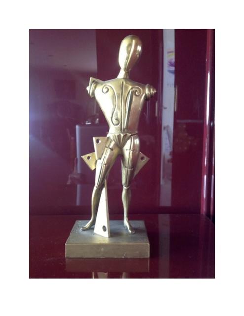 , 'Archeologo,' 1980, Galleria Ca' d'Oro
