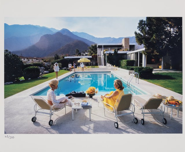 Slim Aarons, 'Poolside Glamour', 1970-printed later, Heritage Auctions