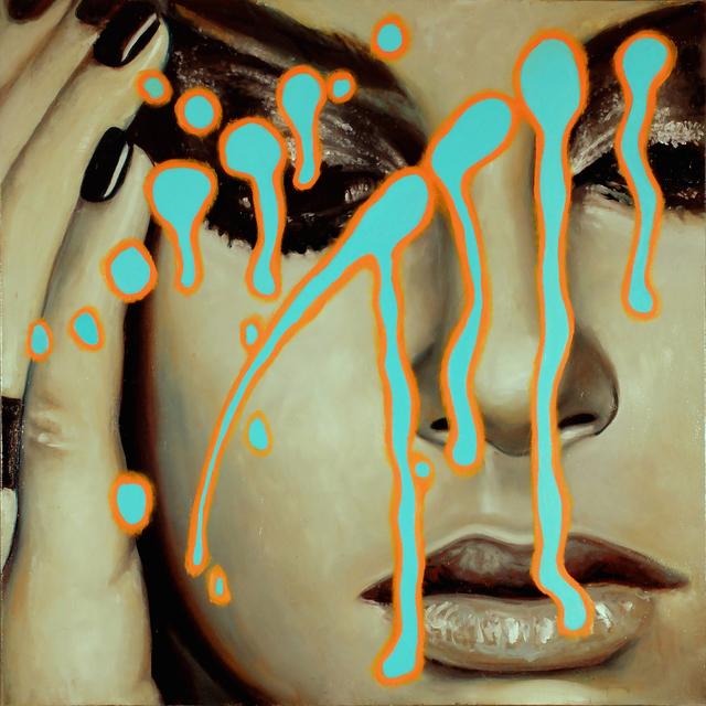 Manzur Kargar, 'Dripping 3', SimonBart Gallery