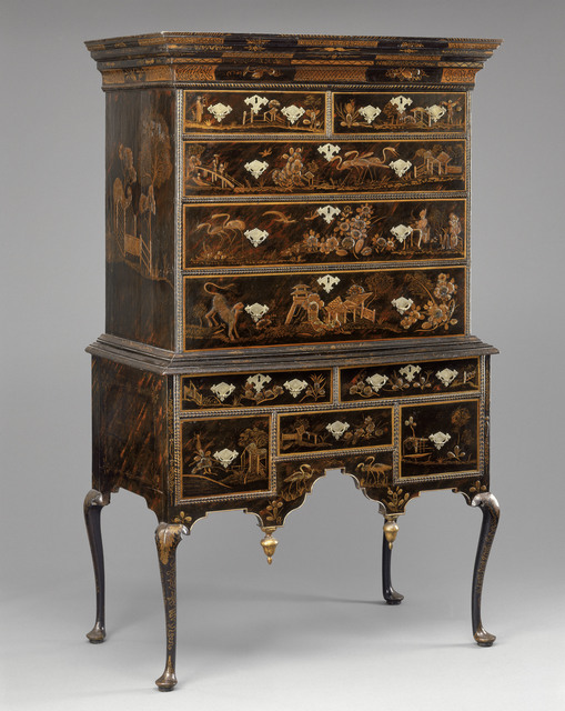, 'High Chest of Drawers,' 1730 -1740, Museum of Fine Arts, Boston