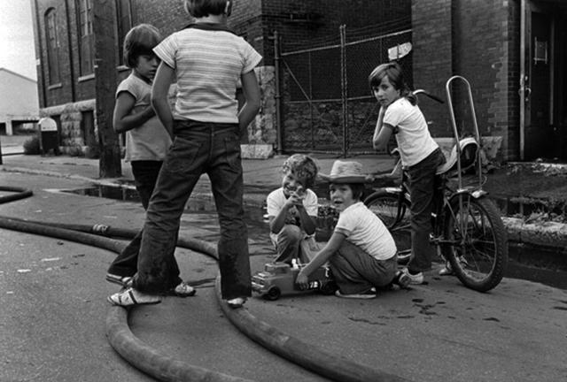 Réjean Meloche, 'Enfants Pompiers', ca. 1975, The Print Atelier
