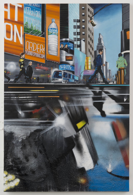 , 'Rush Hour Reflection,' 2017, P.P.O.W