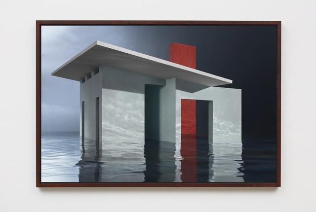 , 'Blue House on Water,' 2018, Sean Kelly Gallery