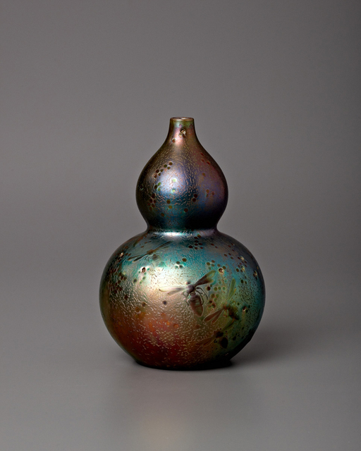 , 'Dragonfly Double Gourd Vase,' 1900, Jason Jacques Gallery
