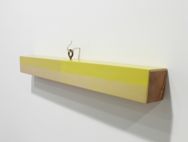 Kevin Finklea, 'Lost & Found #9', 2021, Sculpture, Acrylic on poplar and pine, Margaret Thatcher Projects