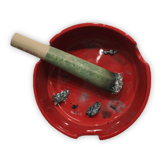 , 'Red Ashtray,' 2017, Black Book Gallery