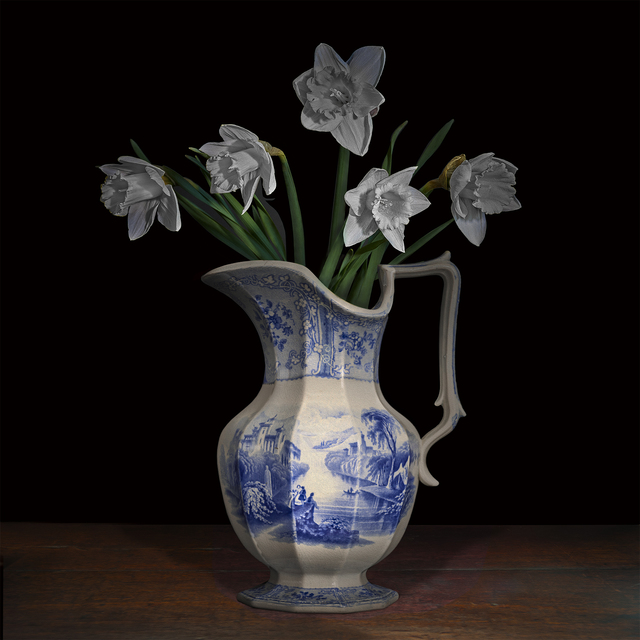 , 'Narcissus in a Staffordshire Pitcher,' 2017, Galerie de Bellefeuille