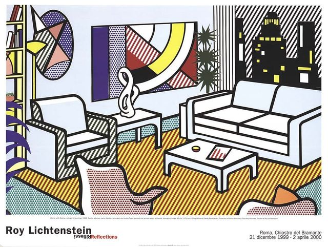 Roy Lichtenstein, 'Interior with Skyline', 2000, MSP Modern
