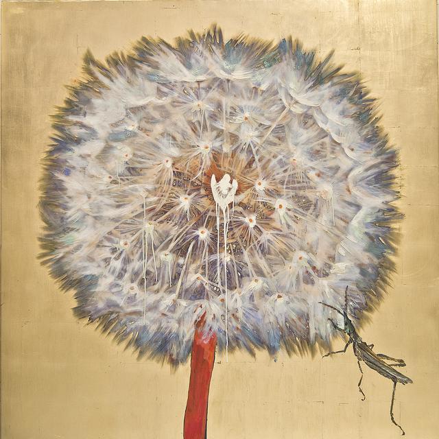 , 'Dandelion - Grasshopper,' , Gail Severn Gallery