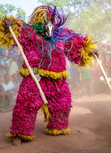 , 'Raffia Animal Mask, Burkina Faso,' 2014, THK Gallery