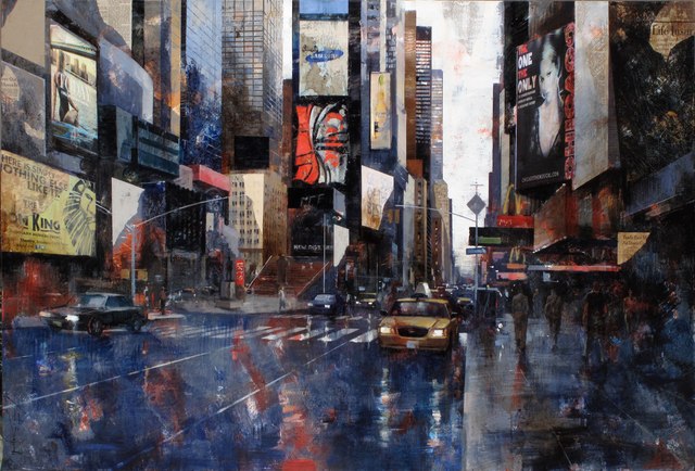 , '16711 Times Square,' 2017, Villa del Arte Galleries