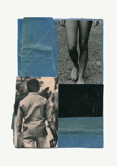 , 'Untitled Blue 1,' 2013-2016, Galerie Les filles du calvaire