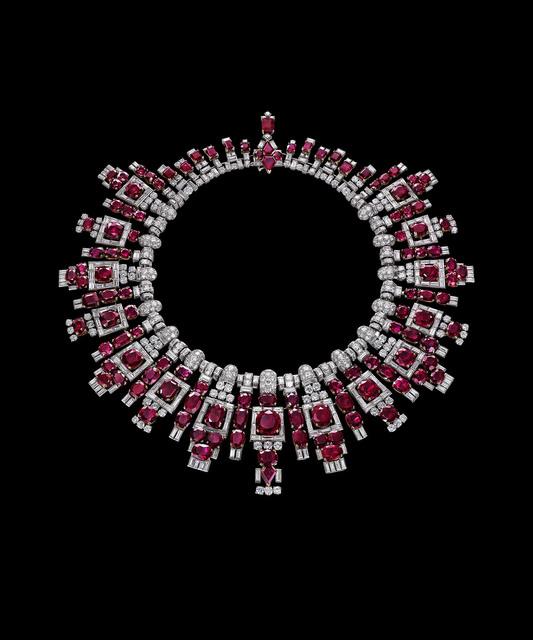 , 'Nawanagar ruby necklace, Cartier, London,' 1937, Legion of Honor