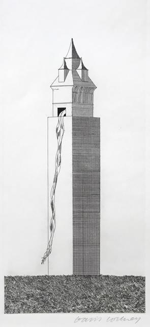 David Hockney, 'The Tower Had One Window', 1969, Adrian Hill Fine Art