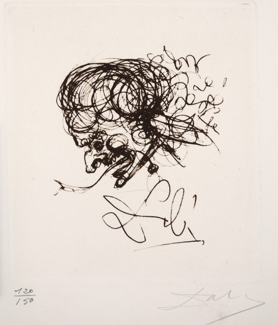 Salvador Dalí, 'Head', Dallas Museum of Art