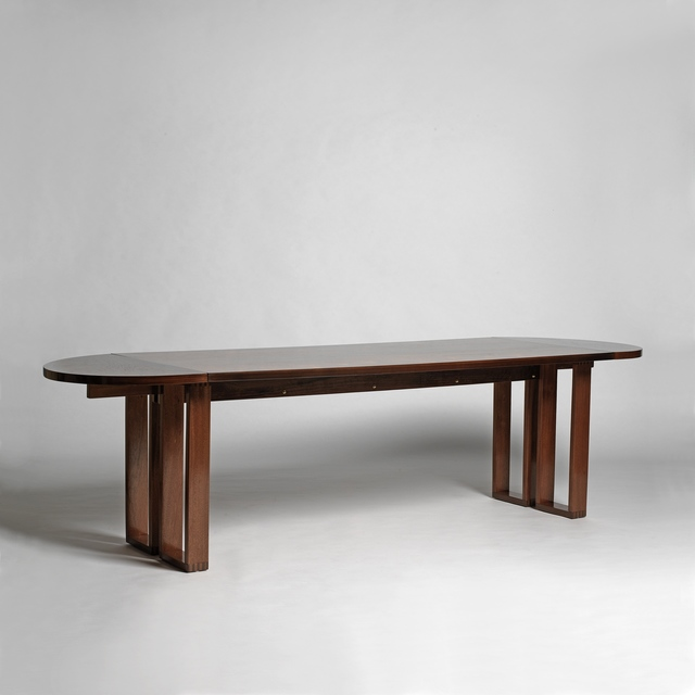 , 'Table-desk with two extensions folding,' ca. 1950, Galerie Alain Marcelpoil