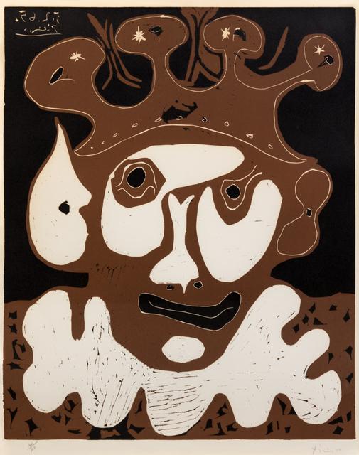 Pablo Picasso, 'Tete de Bouffon (Carnaval)', 1965, Hindman