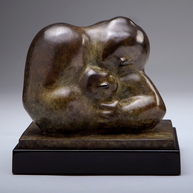 , 'Fatherhood (Dark Patina),' 2010-2017, Eisenhauer Gallery