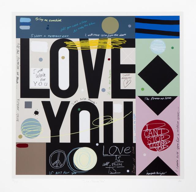, 'Love: Forever True,' 2017, Art Partout