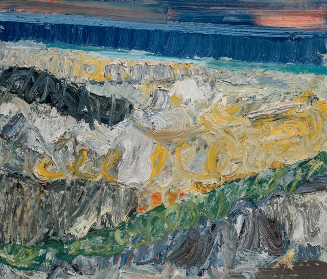 , 'Amber Beach Storm,' 2017, Paul Thiebaud Gallery