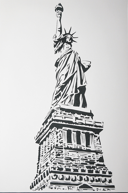 , 'Statue of Liberty, 1960's,' 2015, Marion Gallery