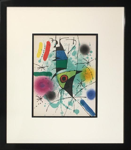 Joan Miró, 'Litografia Original XI', 1972, Baterbys