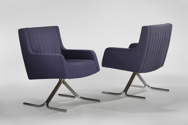 , 'Pair of Quevilly Armchairs,' 1967, Demisch Danant